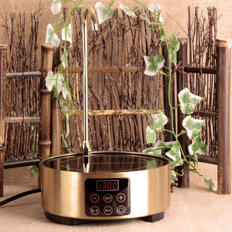铁壶烧水电陶炉抽水式电陶炉大功率家用防电磁光波炉茶炉台式特价