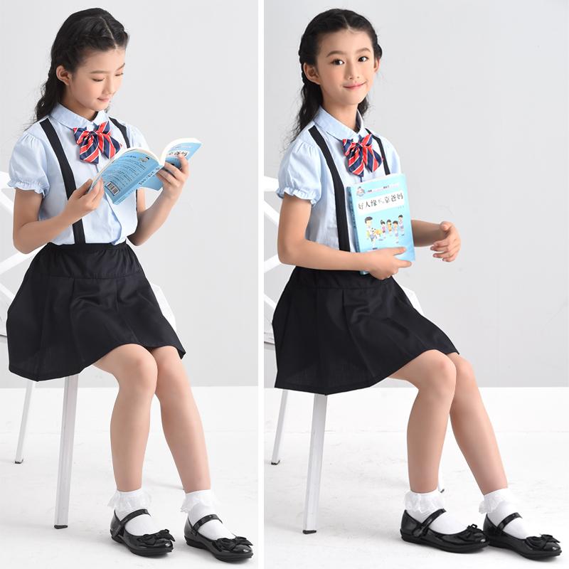 四季熊黑色女童公主鞋儿童皮鞋软底平跟女孩单鞋韩版学生演出鞋子