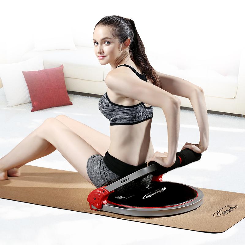 斯諾德摺疊仰臥起坐健身器材家用女多功能懶人仰臥板收腹機輔助器