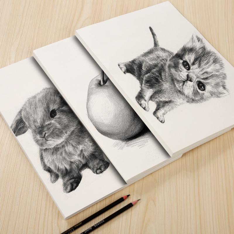 亚鑫8k素描纸150克加厚8开铅画纸100张美术素描纸画纸彩铅绘画专用画画纸4K画纸包邮四八开的批发速写学生用