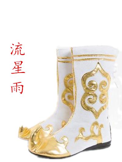 儿童布靴靴套演出打鼓新疆舞鞋鞋男靴子靴女布鞋午夏天舞男舞蹈鞋