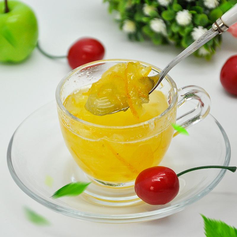全贤蜂蜜柚子茶1kg冲饮罐装 韩国原装进口冲泡水果茶饮品奶茶原料