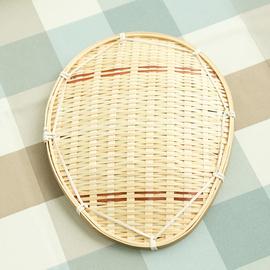 竹编制品小果盘圆形家用茶点盘零食盘幼儿园儿童正方托盘创意农家
