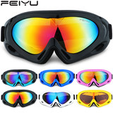 Ms. ski glasses men, boys and girls playing in the snow ski goggles boiling fish monolayer mountaineering outdoor riding goggles wind