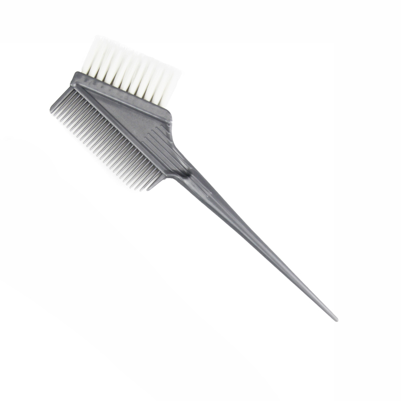 美发染膏工具专业焗油染发梳子焗油两面烫染白毛刷倒膜护理刷子