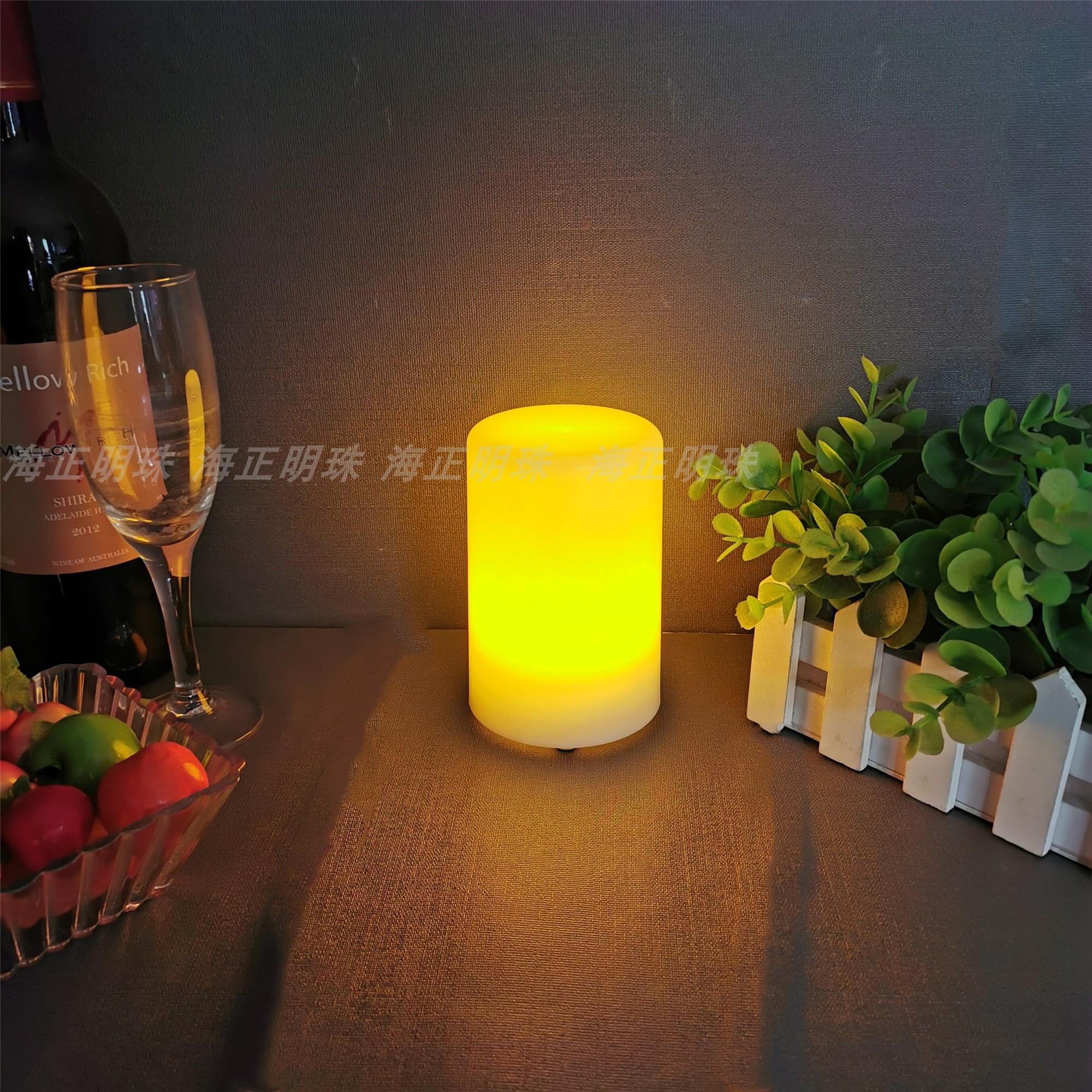酒吧台灯充电餐厅户外桌灯咖啡厅装饰桌面小夜灯 led 创意新款复古