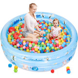 Baby Ocean Ball Pool Indoor Household Folding Children's Fence Bobo Ball Pool Inflatable Toy Pool Baby Game Pool