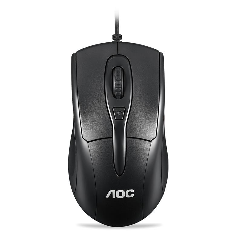 AOC  有线鼠标MS110 9.9元