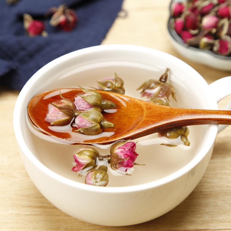云南天然金边玫瑰花散装500g包邮特级干玫瑰花蕾另售野生玫瑰花茶