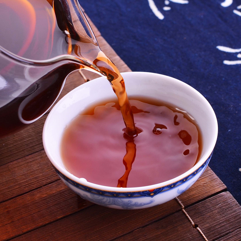 包邮 1000g 公斤特级易武乔木古树 1 年普洱茶勐海熟茶散茶 2008