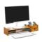 台式电脑液晶显示器增高架键盘支架桌面托架办公桌上收纳置物架