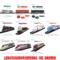 大型仿真电动玩具轨道火车模型系列 双驱动和谐号专用电力机车头