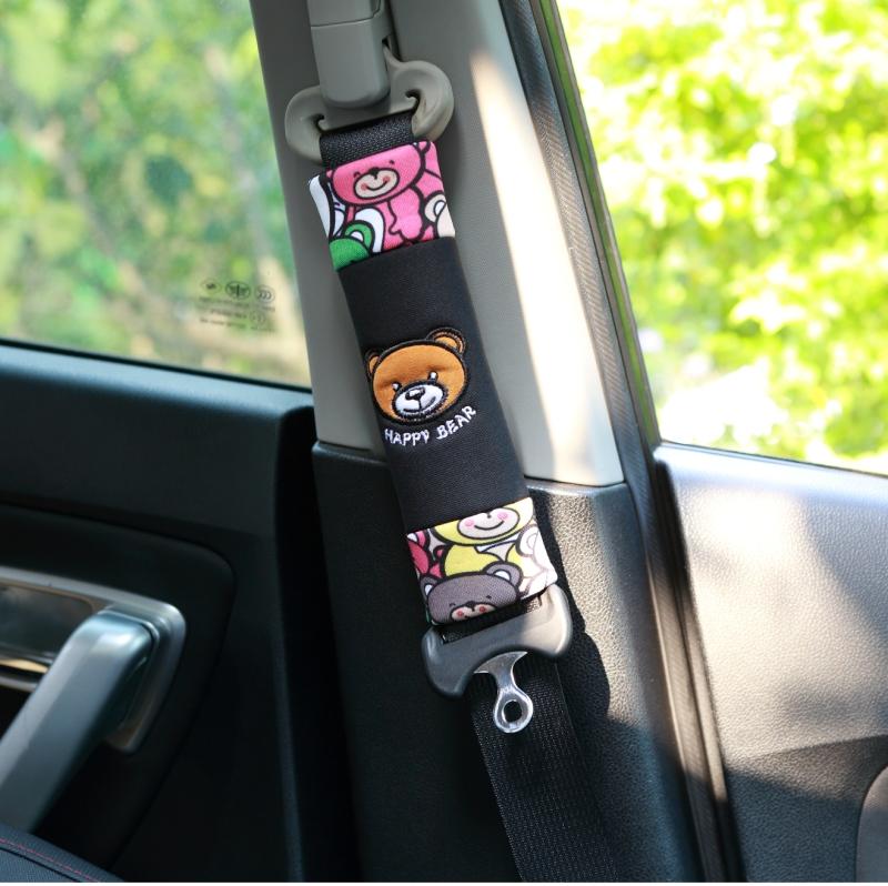 汽车装饰用品卡通汽车安全带套护肩套可爱车用安全带护套保险带套