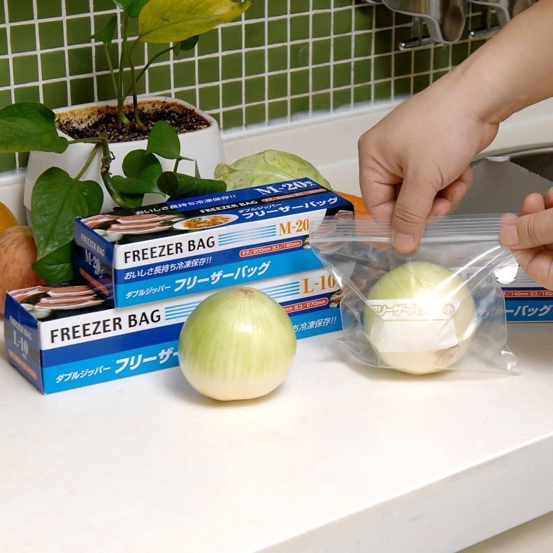 家之物語 日本品牌廚房抽取式食物保鮮密封袋 食品保鮮袋 自封袋