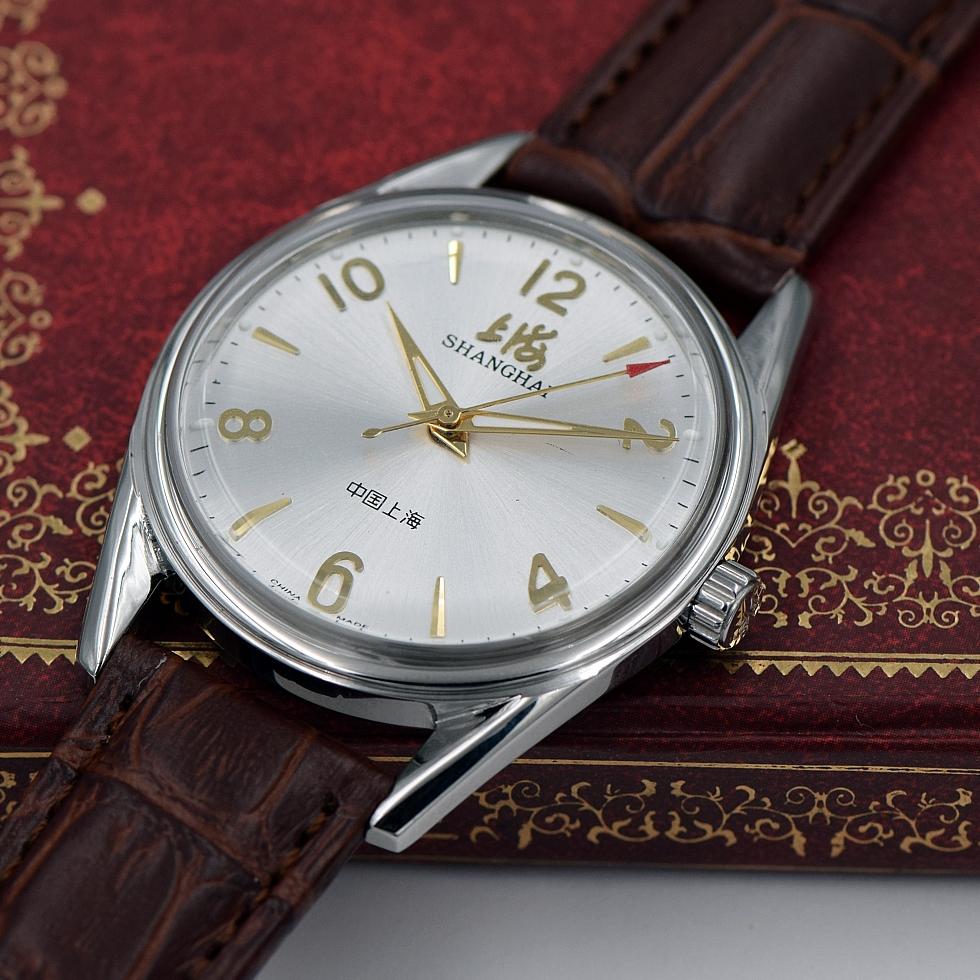 男士库存超薄夜光复古腕表 8120 上链手动机械手表大数字 国产手表