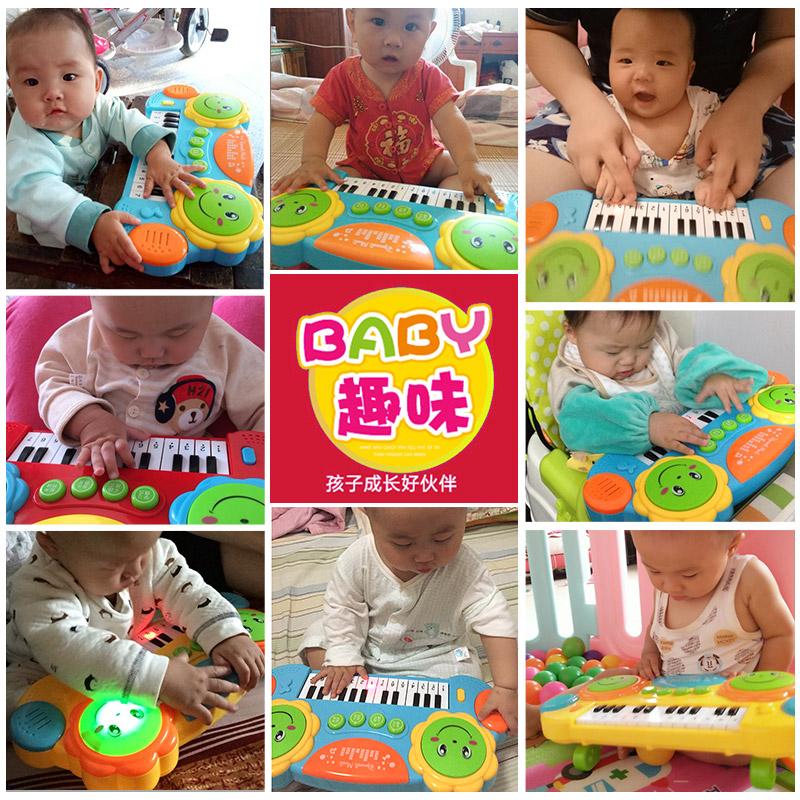 儿童电子琴初学宝宝钢琴音乐0-1-3-6岁男孩女孩婴儿小孩益智玩具