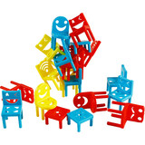 Stacker toy chair thinking training focused on parent-child interaction force of more than 3-6 years old Desktop Puzzle Game