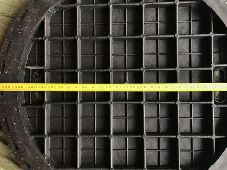 绿谷圆井盖复合阴井盖圆形700污水雨水检查窨井电力树脂下水井盖
