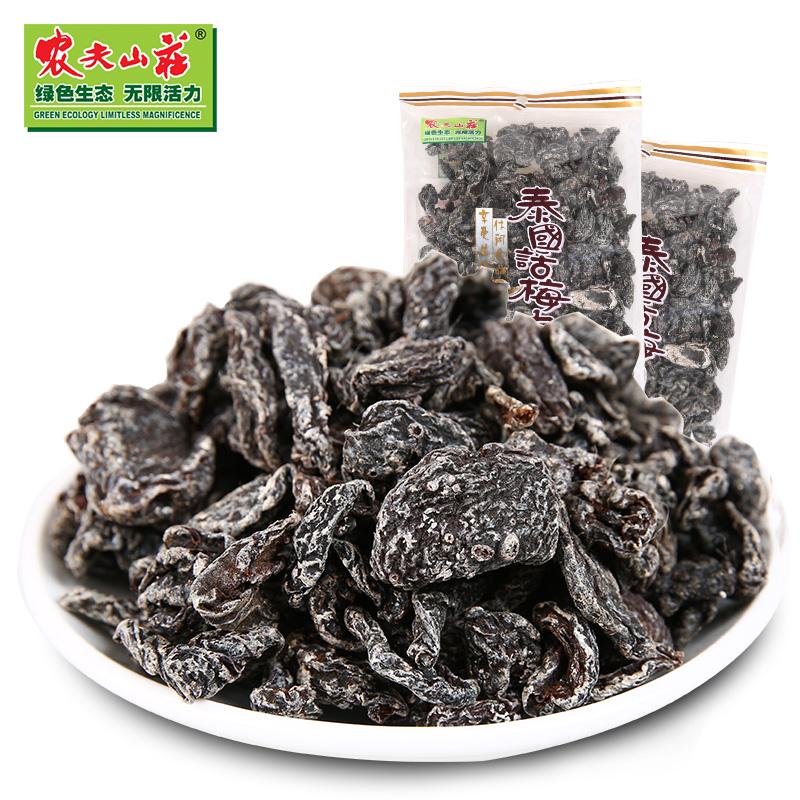 大包装 果干果脯 蜜饯零食酸话梅条 袋 2 260g 无核话梅肉 农夫山庄