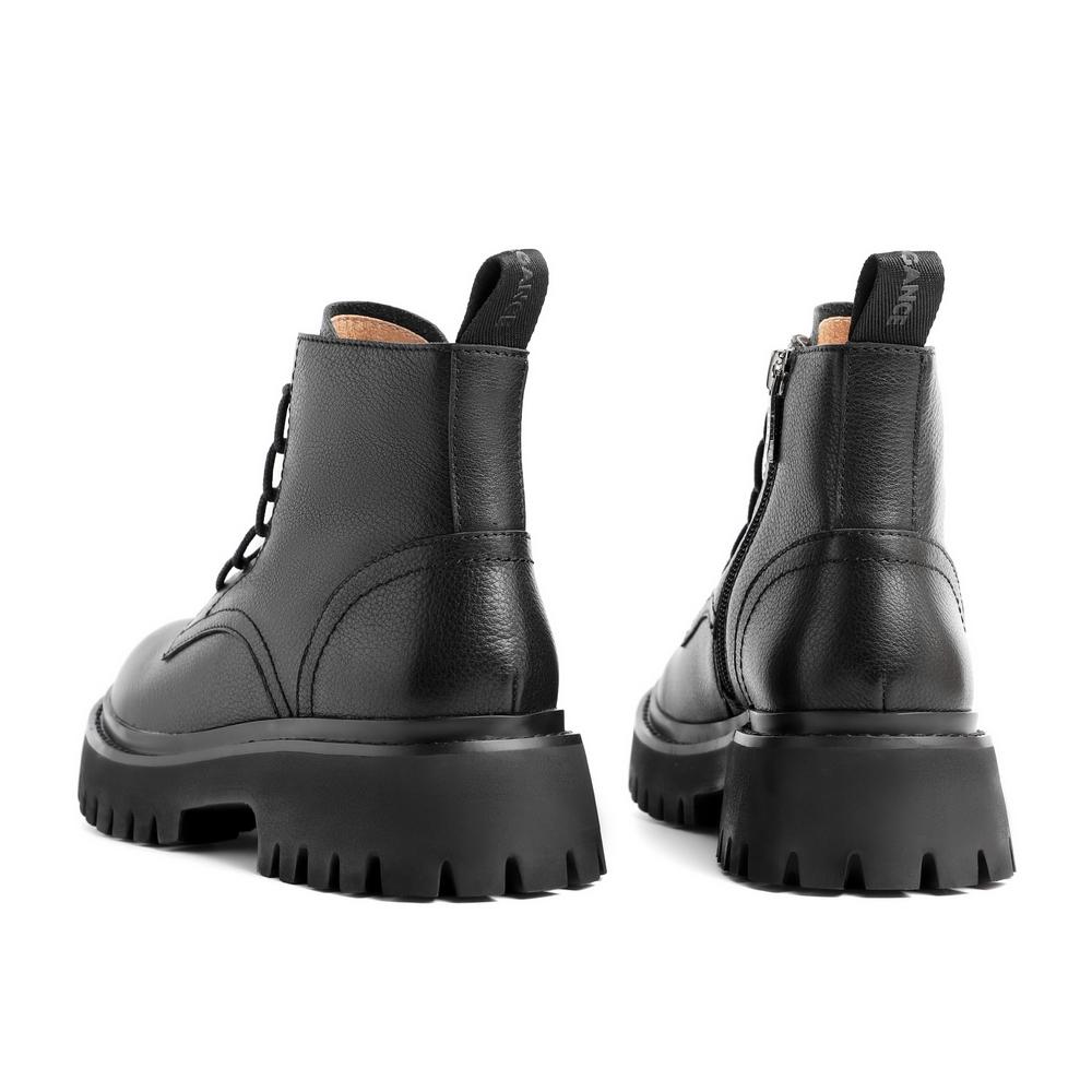 聚 3BC50DD0 潮机车皮短靴 ins 冬新商场同款 2020 百丽厚底马丁靴女