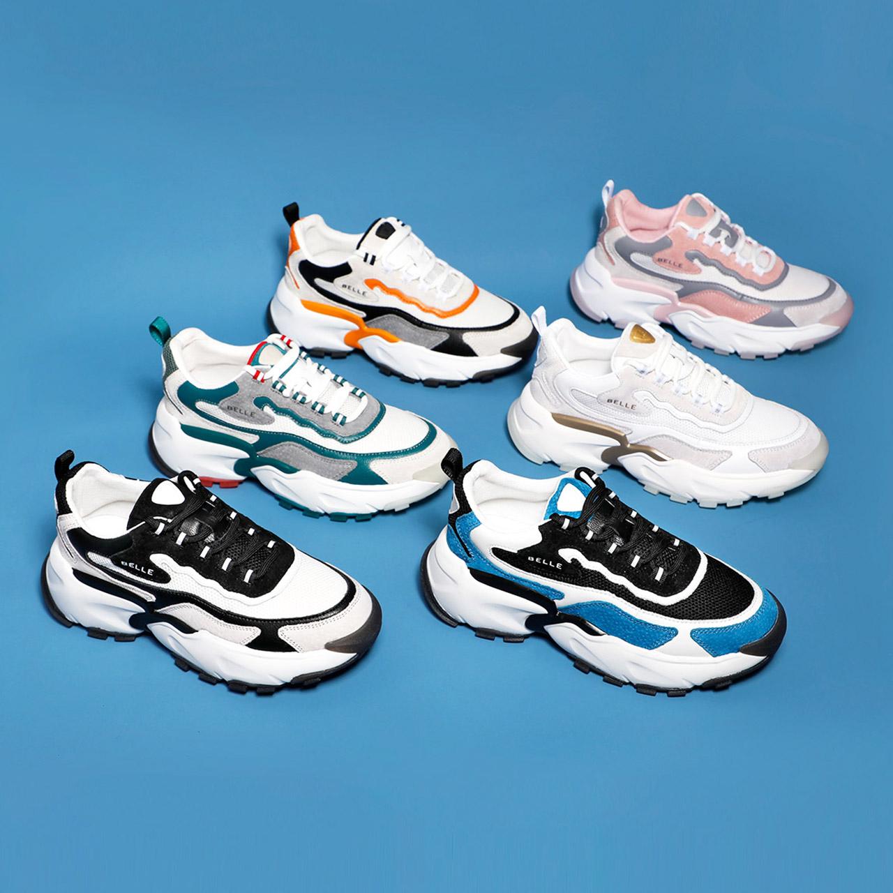 预 V1H1DCM0 夏商场新款运动网面老爹鞋女 20 百丽鲸鱼鞋李宇春同款