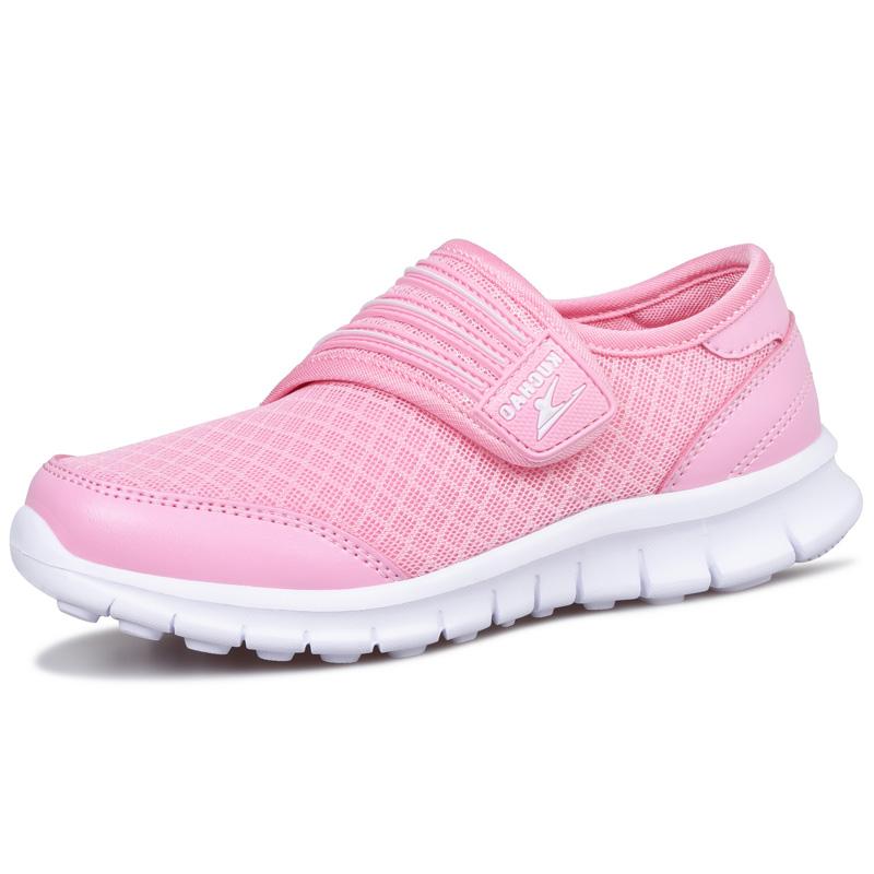 夏季女童鞋子单网面透气小学生运动鞋女孩旅游波鞋休闲儿童跑步鞋