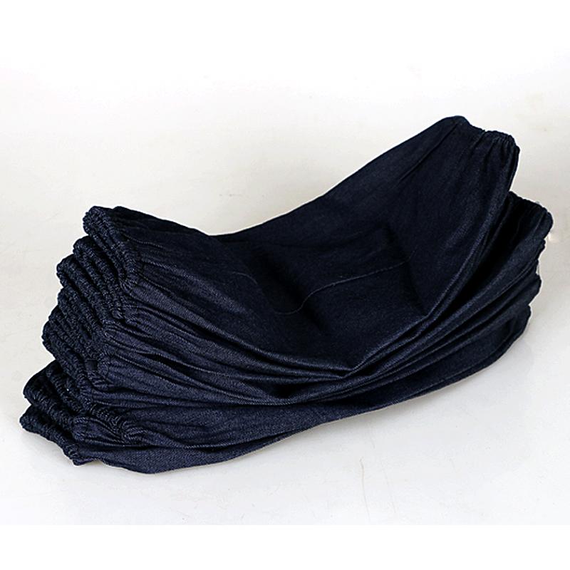 牛仔布套袖电焊防污耐脏加厚耐磨10双包邮袖套男女工作劳保牛仔布