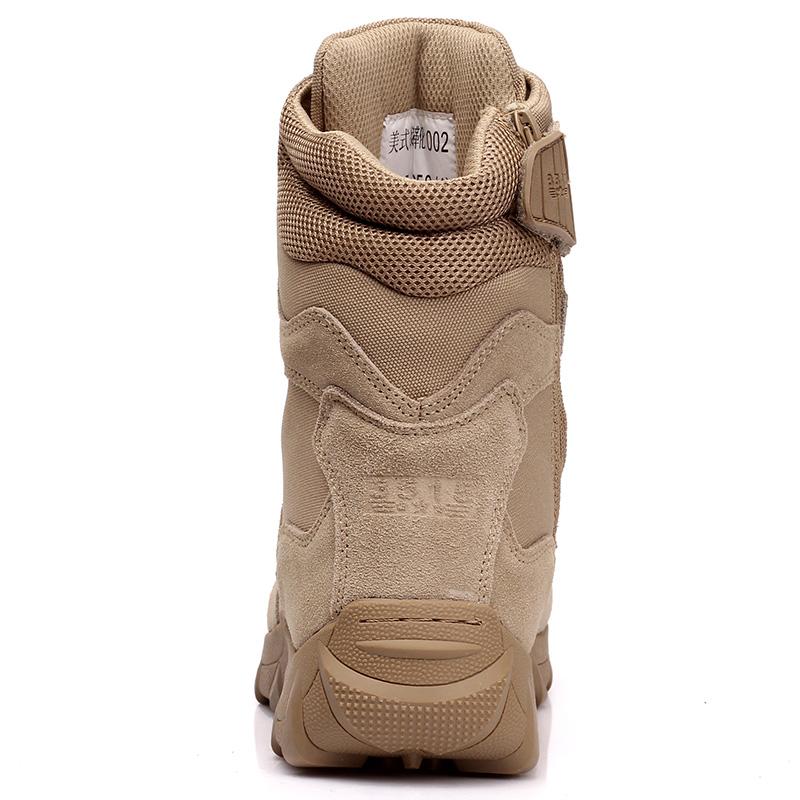 3515强人军靴男511特种兵户外作战靴秋季马丁靴沙漠靴中筒高帮鞋