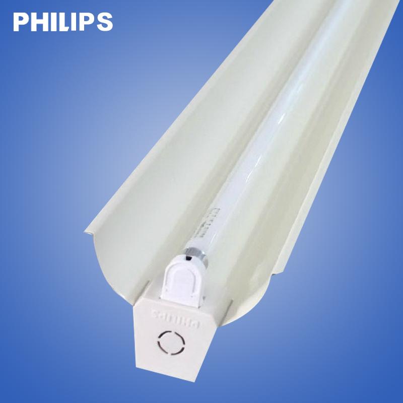 飞利浦T5支架灯 T5双支带罩日光灯 T5双管支架T5双支带罩荧光灯