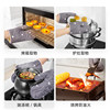 Silicone thick anti-hot gloves insulation oven grille microwave baking heat-resistant kitchen home high temperature handle clip