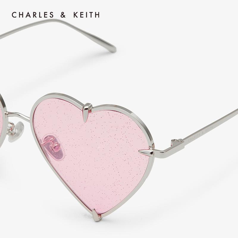 金属爱心镜框饰女士墨镜 81280358 CK3 太阳镜 KEITH & CHARLES