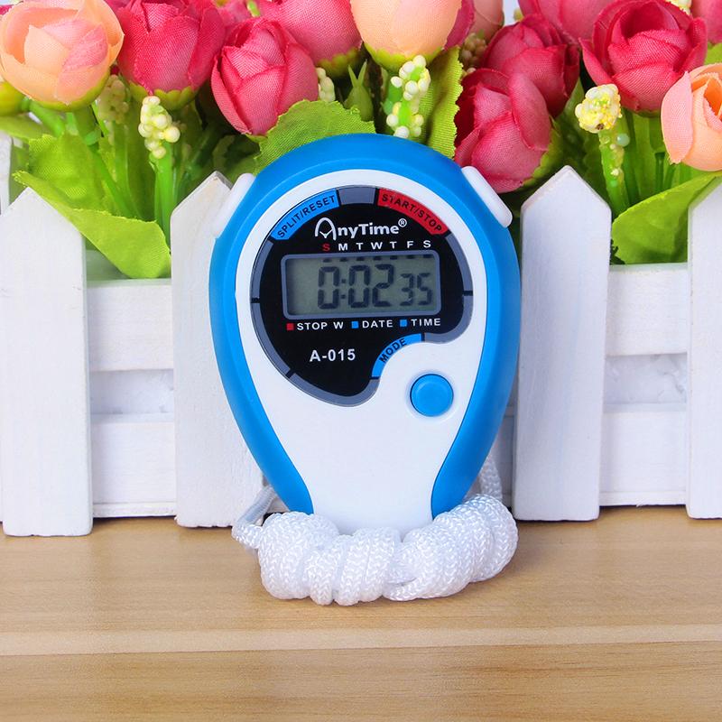田径运动跑步游泳秒表裁判教练比赛专用计时器多功能防水电子码表