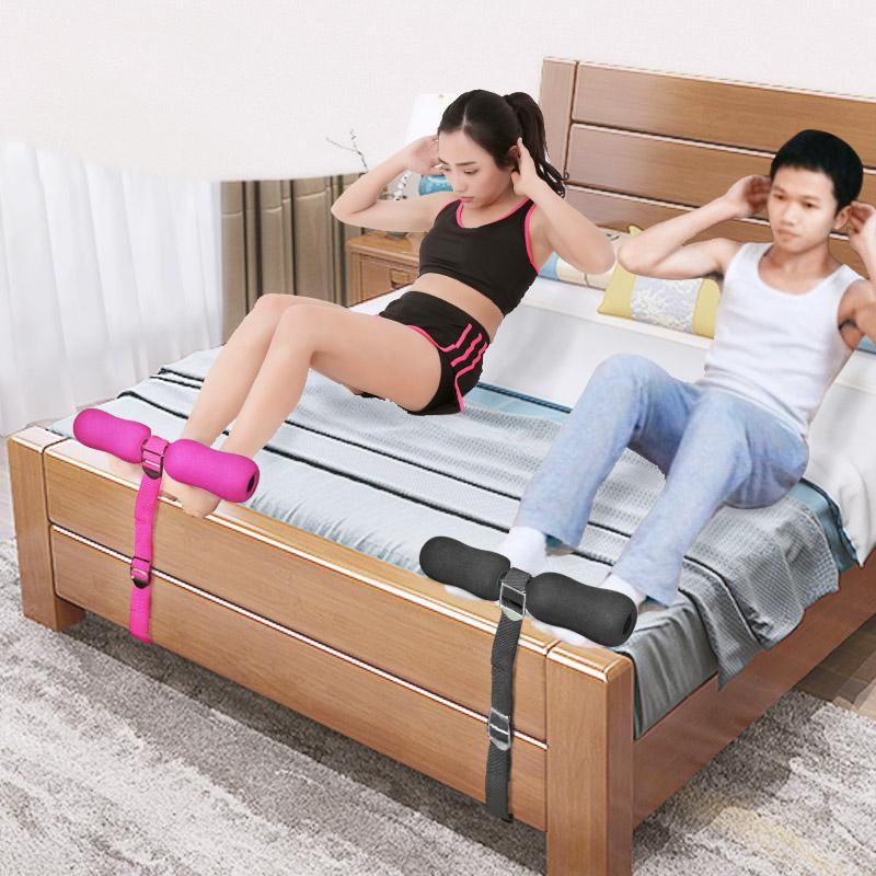 簡易仰卧起坐女輔助器宿舍床上家用固定腳壓腳器做健身器材學生男
