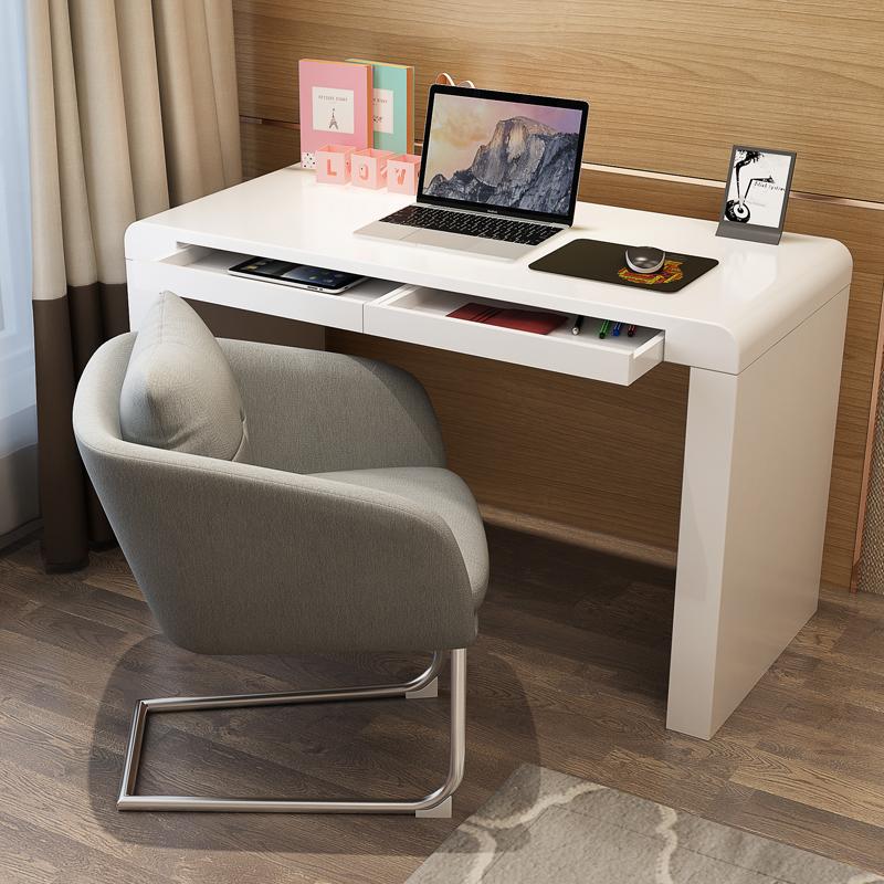 傑希 現代簡約電腦桌書桌 家用臺式辦公桌臥室寫字檯小桌子學習桌