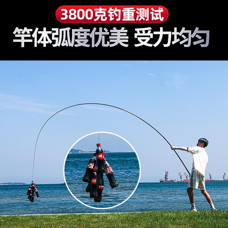 调台钓杆十大名牌 19 28 如意郎君钓鱼竿手竿日本进口超轻超硬 HERON