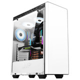 MVP 2 side lens HuntKey full desktop cooled chassis gaming chassis supporting chassis static back line