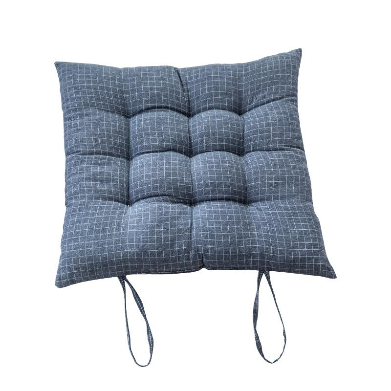 加厚坐垫家用绑带防滑落冬季椅子椅垫办公室座垫学生凳子屁股座垫
