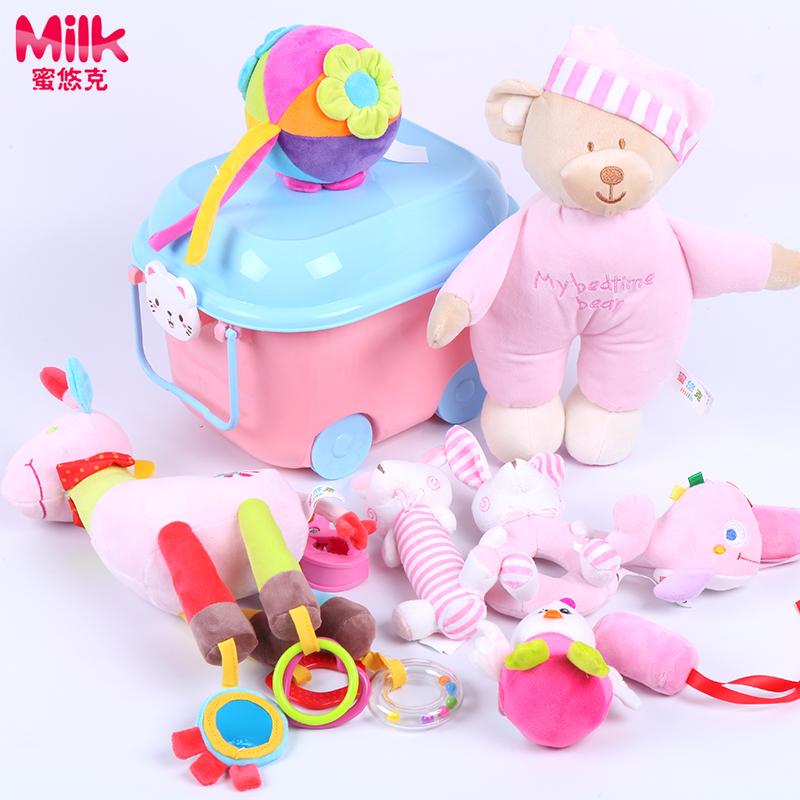 婴儿新生儿礼盒套装送礼初生刚出生宝宝母婴用品大全儿童玩具礼包
