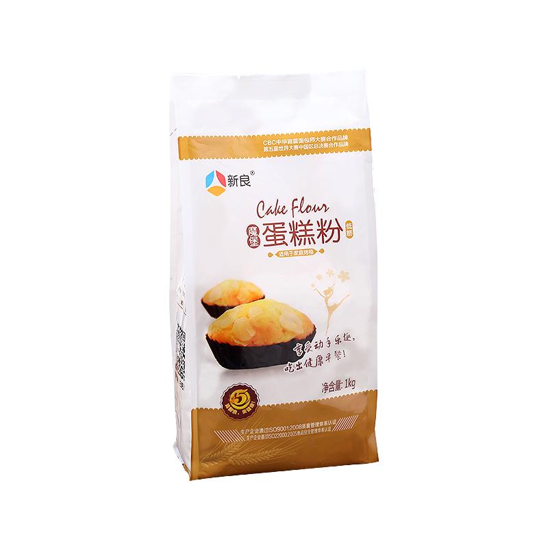 新良低筋面粉蛋糕粉家用烘焙1kg小麦面粉戚风蛋糕饼干材料低筋粉