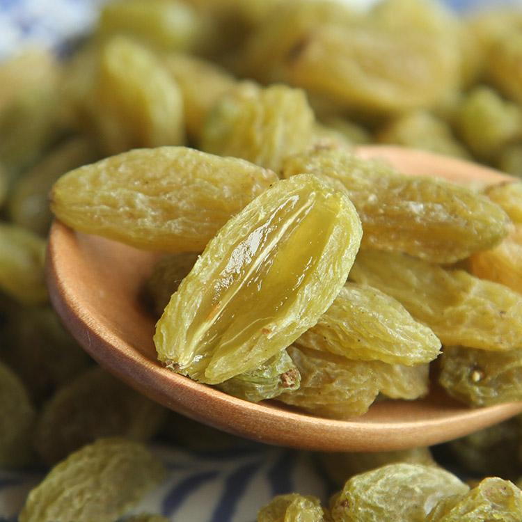 包邮 袋 2 500g 树上黄葡萄干 1000g 新货新疆吐鲁番无核白葡萄干