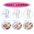 Disney children's training chopsticks 3 years old one section 5 two sections 6 learning 4 practice chopsticks baby 8 tableware spoon fork set