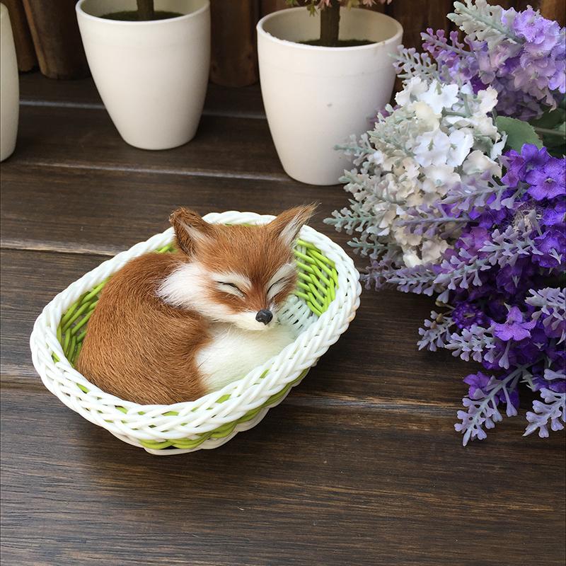 儿童玩具仿真动物白狐狸狐仙供奉摆件狐狸模型玩偶摄影道具工艺品