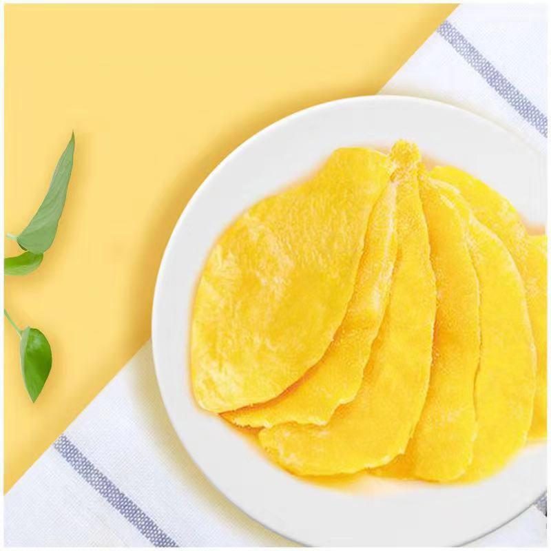 鲜记 芒果干100g*4袋果脯蜜饯象牙芒果干小包装零食休闲小吃芒果