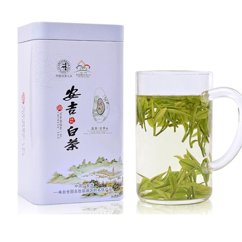 年正宗安吉白茶新茶春茶叶明前特级散装礼盒装珍稀绿茶 2018 茶二叔