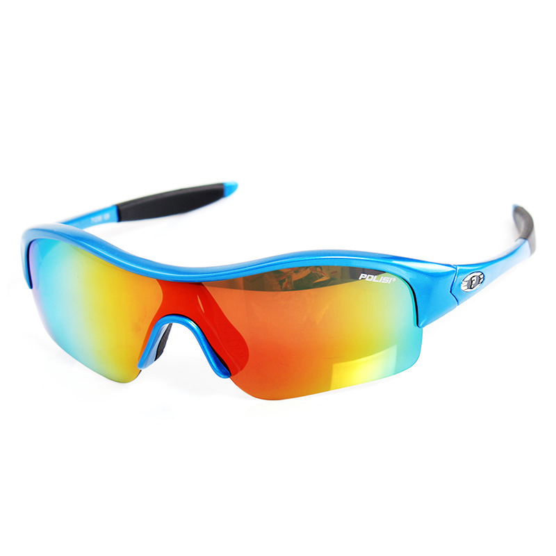 POLISI 专业儿童防风镜男女童滑轮骑行眼镜偏光护目镜 小孩太阳镜