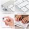 迷你无线键盘鼠标套装小型便携USB接收器女生可爱静音超薄笔记本一体台式手机云电脑otg通用和2.4g可充电键鼠