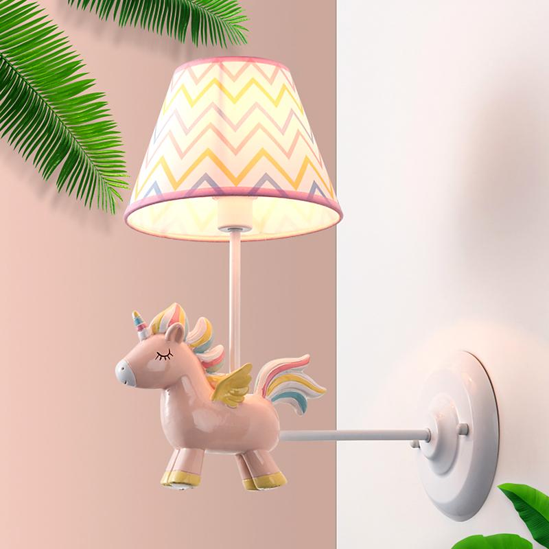 约北欧男孩女孩宝宝房间灯创意