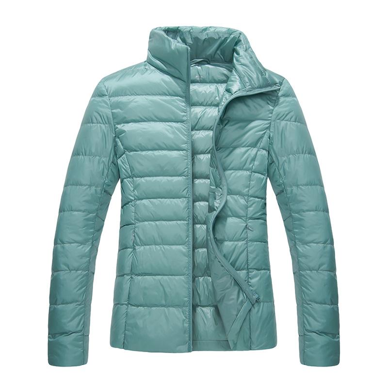 南极人2018新款轻薄羽绒服女短款男正品外套冬季大码修身超轻薄款