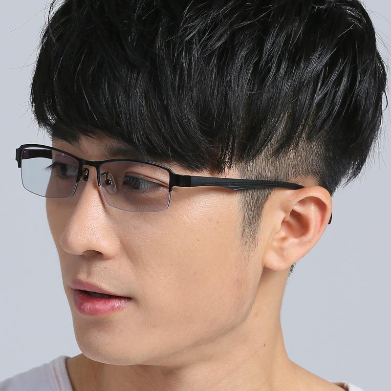 男平光有色柔光防辐射防蓝光紫外线浅色挡光电脑电视手机护目眼镜