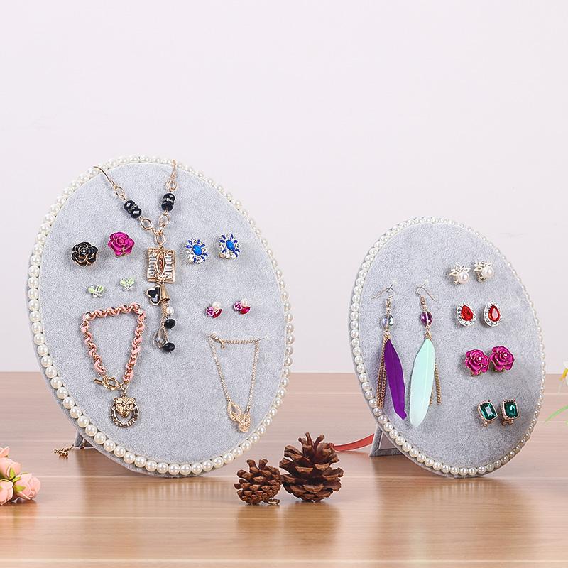 首饰展示架饰品展示板珠宝展示道具耳环架耳钉架项链架耳环展示架